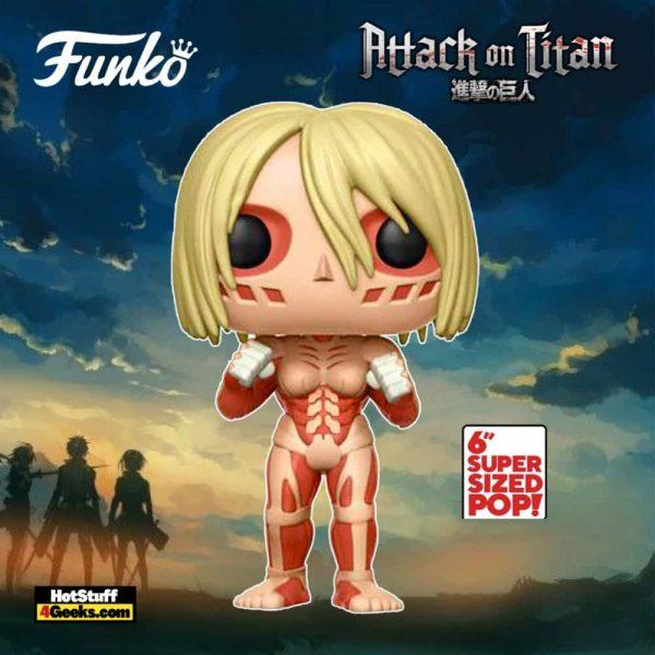 Funko Pop! Animation: Attack on Titan - Female Titan 6-Inch Funko Pop! Vinyl Figure