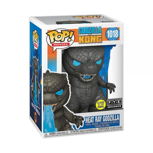 Funko Pop! Animation: Godzilla vs. Kong - Heat Ray Godzilla Glow-In-The-Dark (GITD) Funko Pop! Vinyl Figure - Fye Exclusive