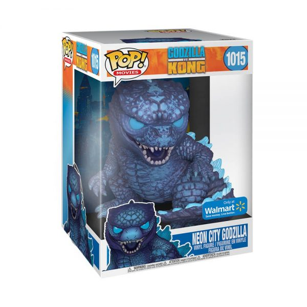 Funko Pop! Animation: Godzilla vs. Kong - Neo City Godzilla (City Lights) 10-inch Jumbo Size Funko Pop! Vinyl Figure - Walmart Exclusive