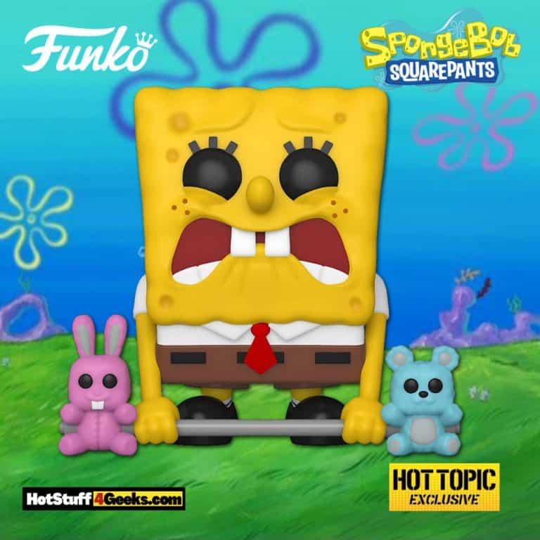 Funko Pop! Animation: SpongeBob SquarePants - SpongeBob Weightlifter Funko Pop! Vinyl Figure - Hot Topic Exclusive