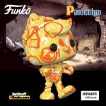 Funko Pop! Art Series: Disney Treasures of The Vault - Pinocchio Artist Series Funko Pop! Vinyl Figure - Amazon Exclusive