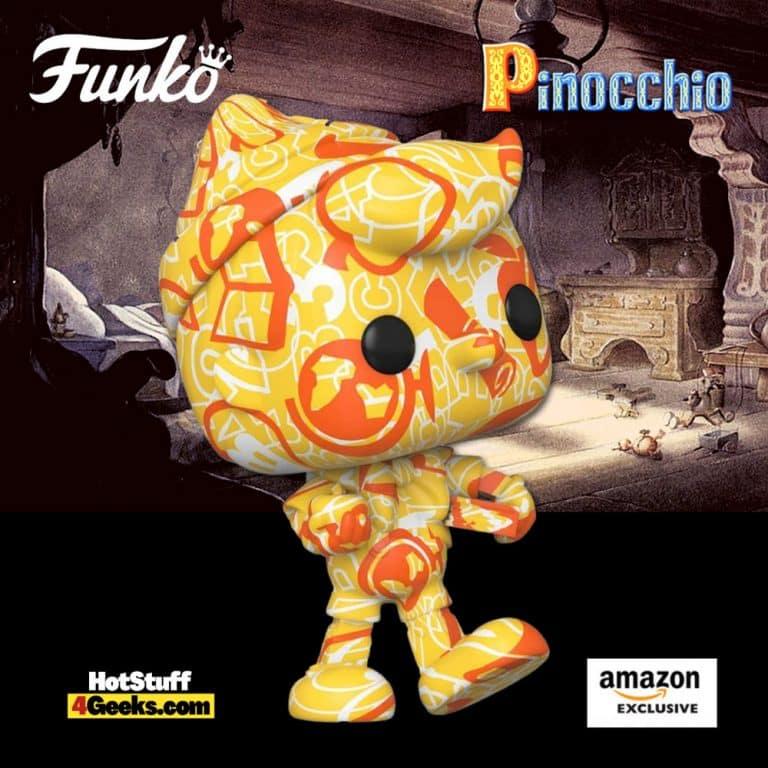 Funko Pop! Art Series: Disney Treasures of The Vault - Pinocchio Artist Series Funko Pop! Vinyl Figure - Amazon Exclusive