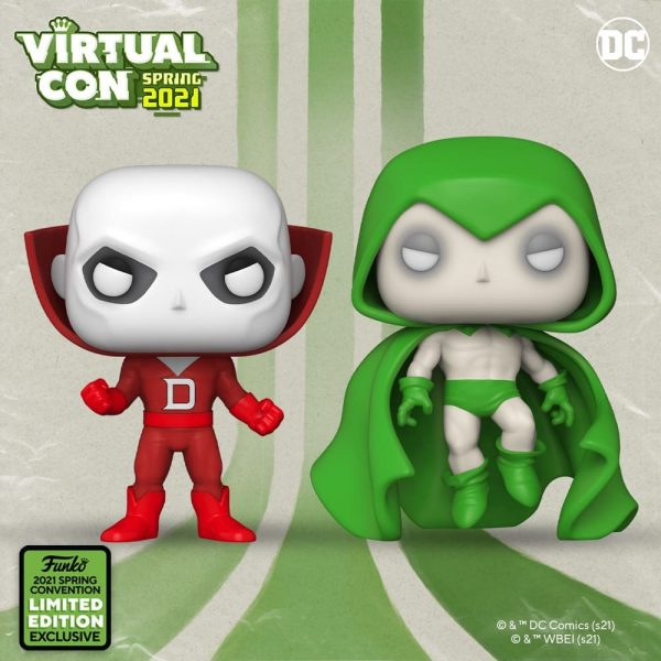 Funko Pop! DC Heroes ECCC 2021