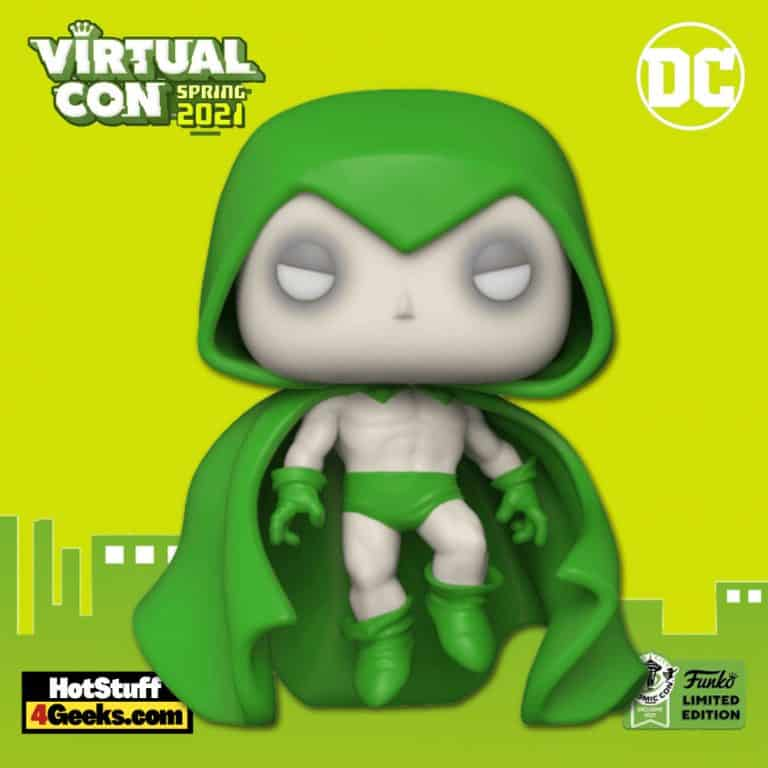 Funko Pop! DC Heroes - Spectre Funko Pop! Vinyl Figure - ECCC 2021 and Entertainment Earth Shared Exclusive