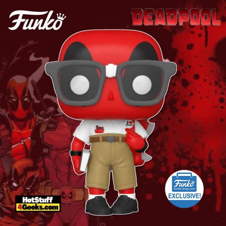 Funko Pop! Deadpool: Nerd Deadpool Funko Pop! Vinyl Figure - Funko Shop Exclusive
