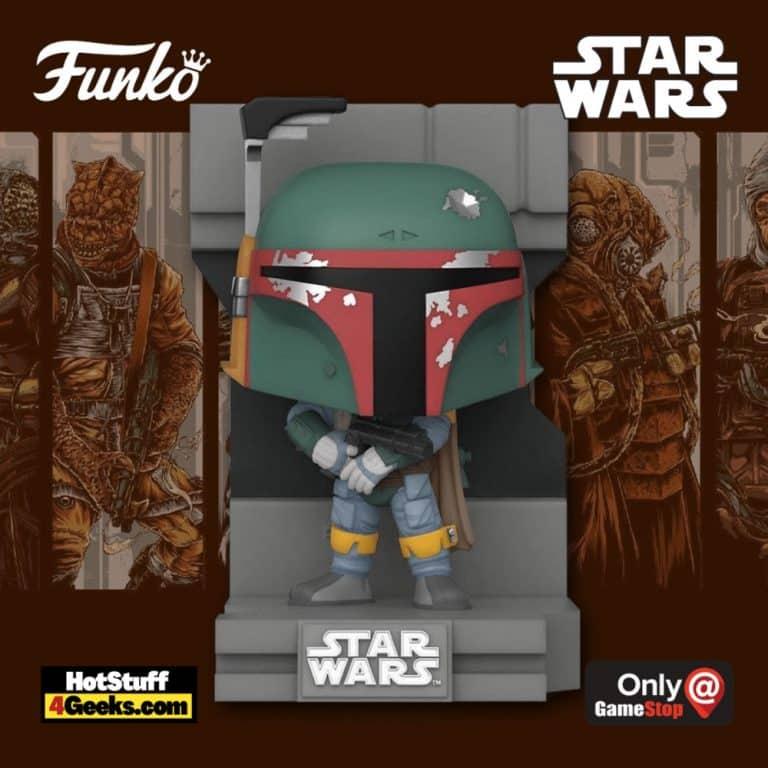 Funko Pop! Deluxe Star Wars: Bounty Hunters Collection - Boba Fett Funko Pop! Vinyl Figure 1 of 7 - GameStop Exclusive