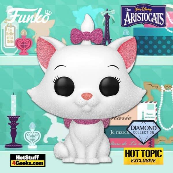 Funko Pop! Disney The Aristocats - Marie Diamond Glitter Collection Funko Pop! Vinyl Figure - Hot Topic Exclusive