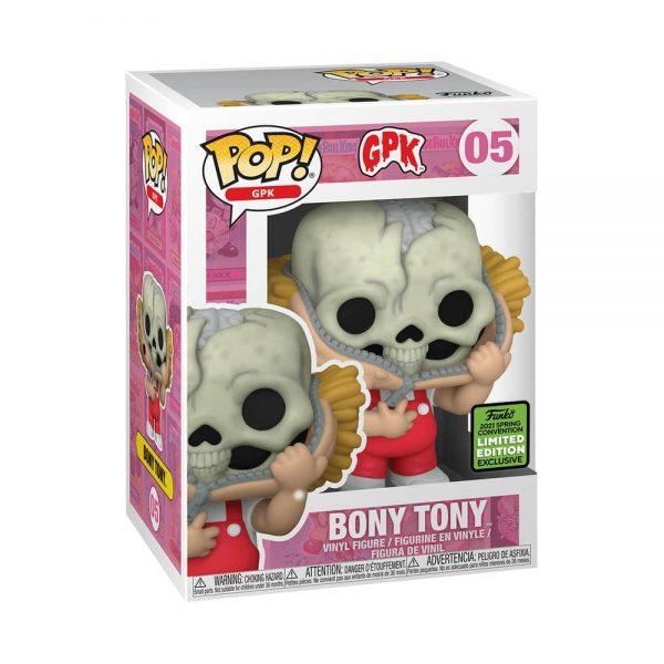 Funko Pop! GBK: Garbage Pail Kids - Bony Tony Funko Pop! Vinyl Figure - ECCC 2021 and Hot Topic Shared Exclusive