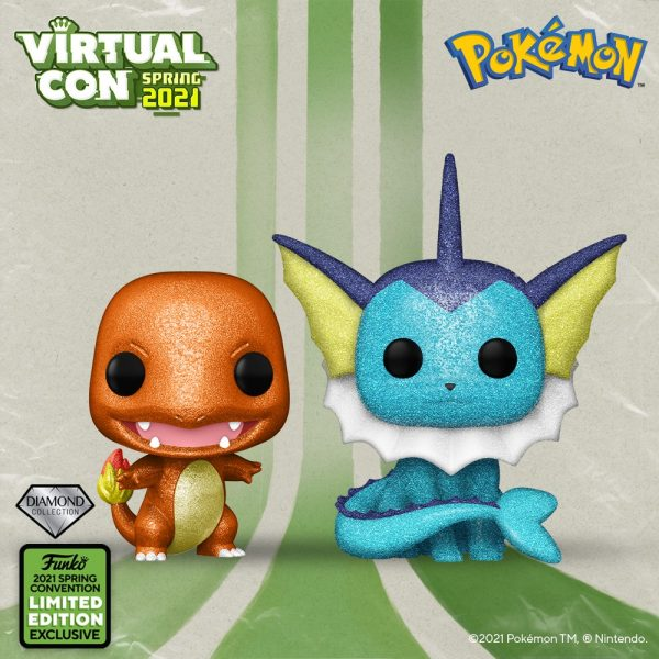 Funko Pop! Games Pokémon ECCC 2021 Exclusives