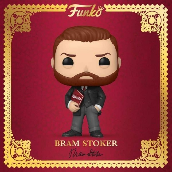 Funko Pop! Icons: Bram Stoker with Book Funko Pop! Vinyl Figure - BAM Exclusive