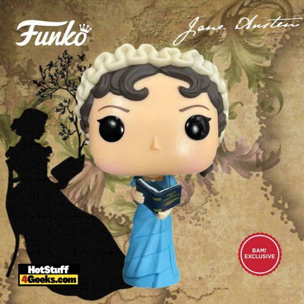 Funko Pop! Icons: Jane Austen With Book - Funko Pop! Vinyl Figure - BAM Exclusive