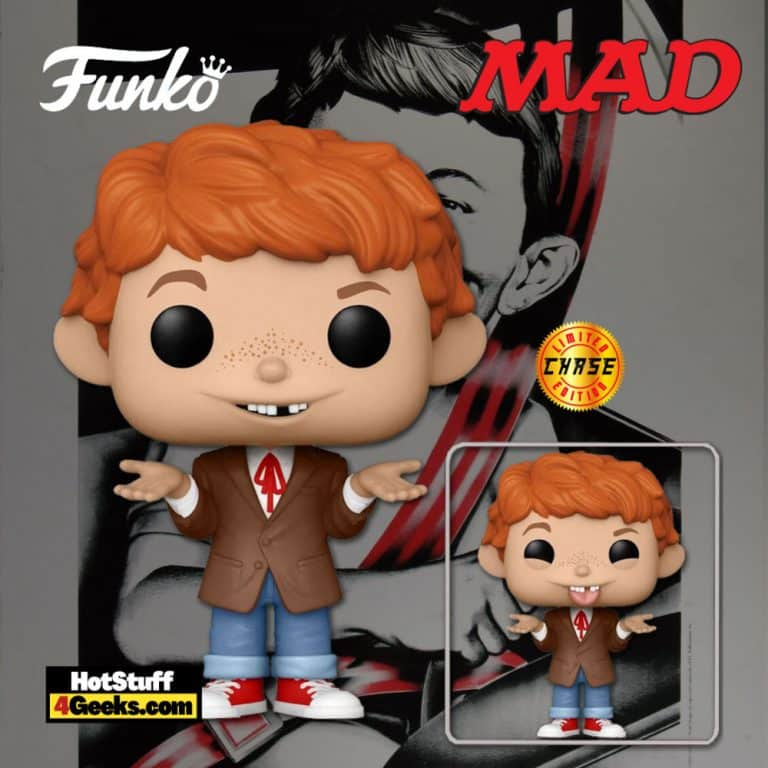 Funko Pop! Icons: MAD TV - Alfred E. Neuman with Chase Variant Funko Pop! Vinyl Figure