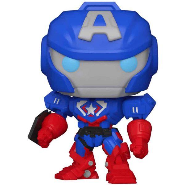 Funko Pop! Marvel Avengers Mech Strike: Captain America Funko Pop! Vinyl Figure
