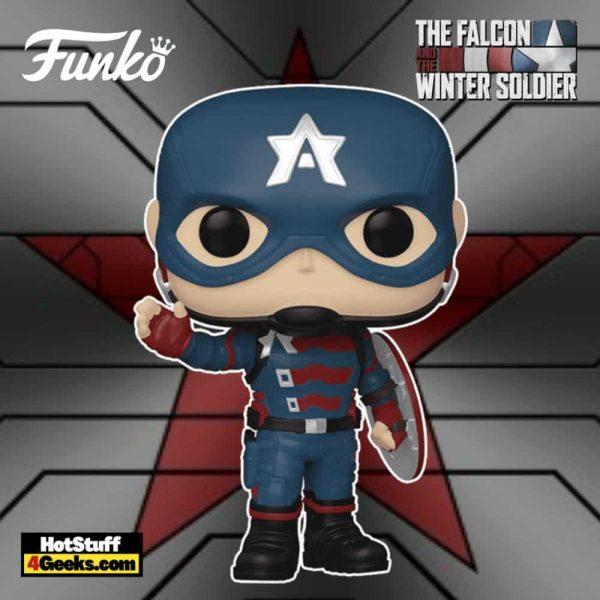 Funko Pop! Marvel Studios: The Falcon and Winter Soldier - John F. Walker Funko Pop! Vinyl Figure
