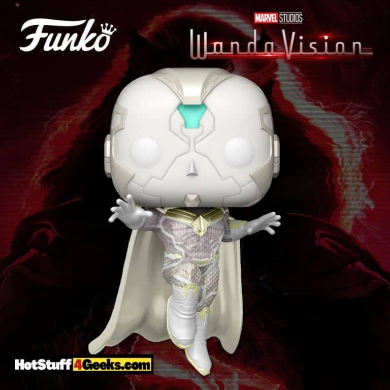 Funko Pop! Marvel Studios: The Vision (White) Funko Pop! Vinyl Figure