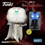 Funko Pop! Marvel Studios: Wandavision: The Vision Glow-In-The-Dark (GITD) Funko Pop! Vinyl Figure - Walmart Exclusive
