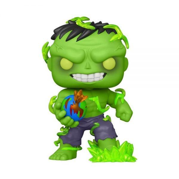 Funko Pop! Marvel: The Immortal Hulk 6-Inch With Glow In The Dark (GITD) Chase Funko Pop! Vinyl Figure – PX Previews Exclusive