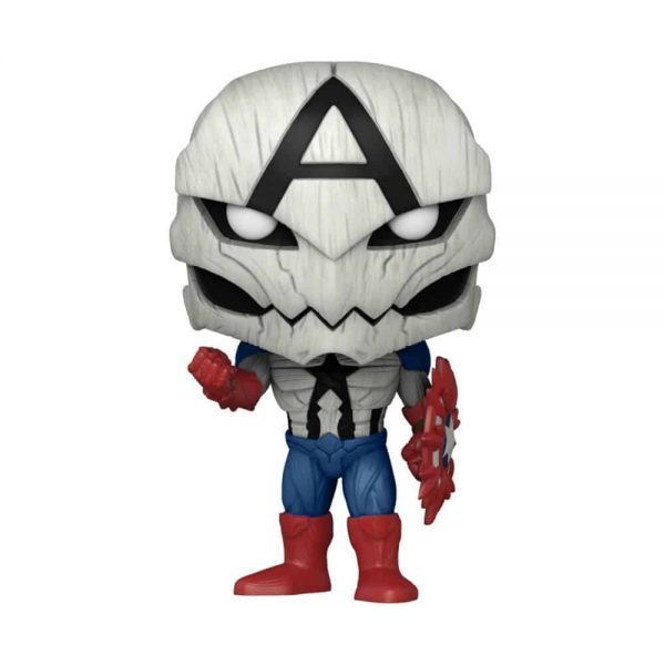 Funko Pop! Marvel Venom: Poison Captain America Funko Pop! Vinyl Figure - Pop-In-A-Box Exclusive