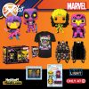 Funko Pop! Marvel X-Men Classic Black Light Collection - Target Exclusive