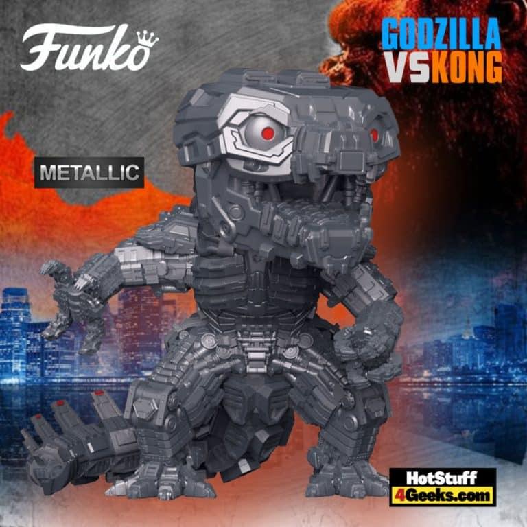 Funko Pop! Movies: Godzilla vs. Kong - Mechagodzilla (Metallic) Funko Pop! Vinyl Figure