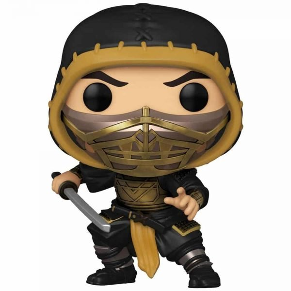 Funko Pop! Movies: Mortal Kombat 2021 - Scorpion With Chase Variant Funko Pop! Vinyl Figure