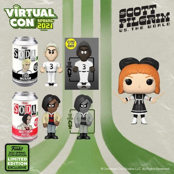 Funko Pop! Movies Scott Pilgrim vs. the World - ECCC 2021