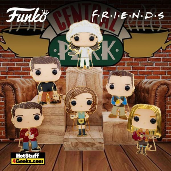 Funko Pop! Pin Friends Large Enamel Pop! Pins