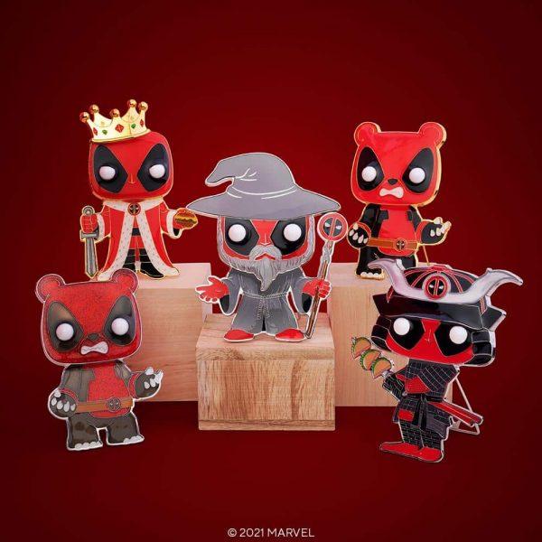 Funko Pop! Pin Marvel Deadpool Enamel Pop! Pins