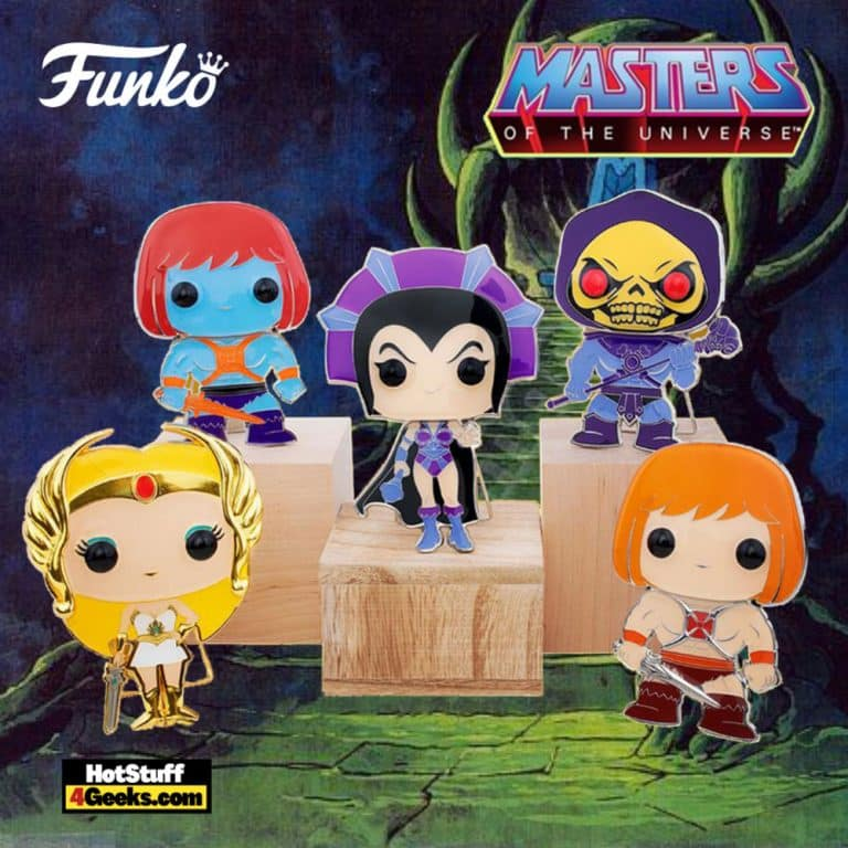 Funko Pop! Pin Masters of the Universe Large Enamel Pop! Pins (2)