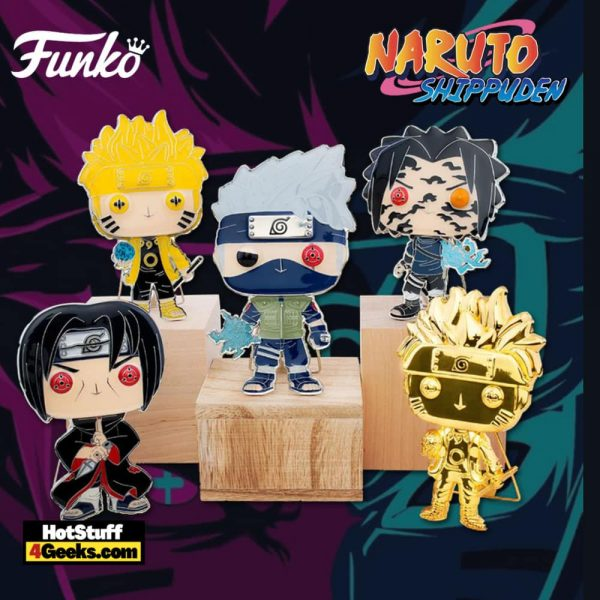 Funko Pop! Pin Naruto Large Enamel Pop! Pins