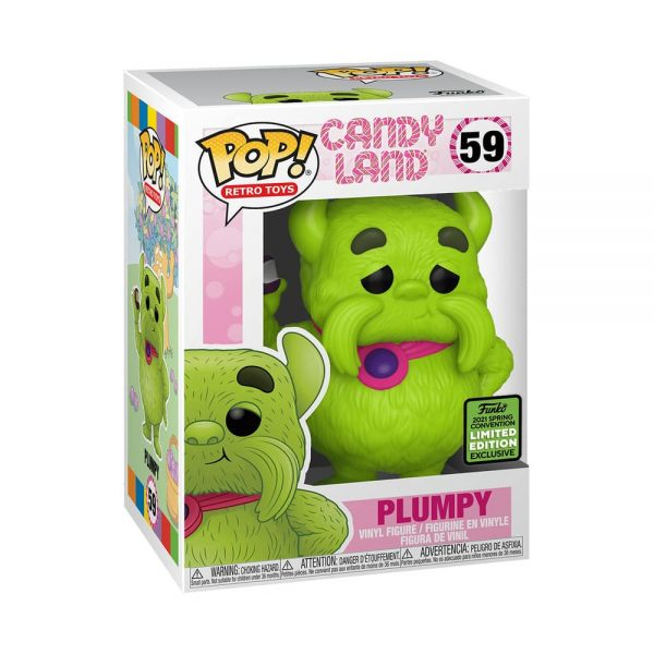Funko Pop! Retro Toys: Candyland - Plumpy Funko Pop! Vinyl Figure - ECCC 2021 and Funko Shop Shared Exclusive