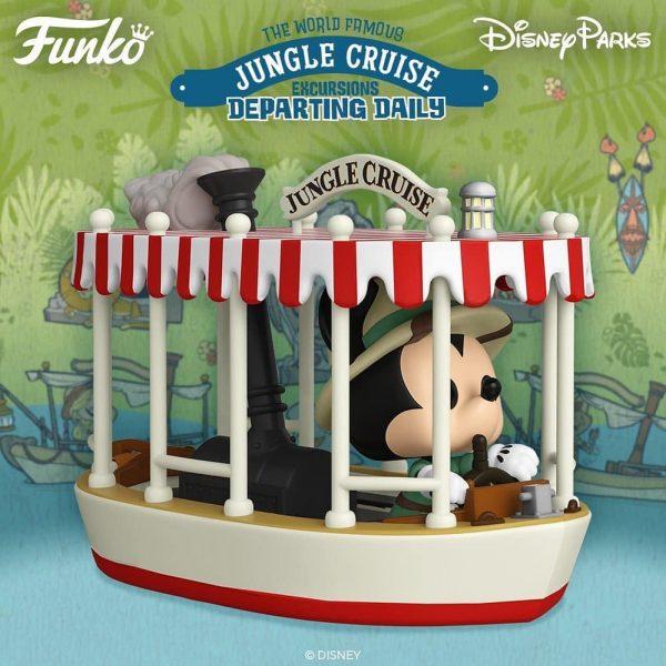 Funko Pop! Rides: Disney Parks Jungle Cruise - Skipper Mickey with Boat Funko Pop! Vinyl Figure