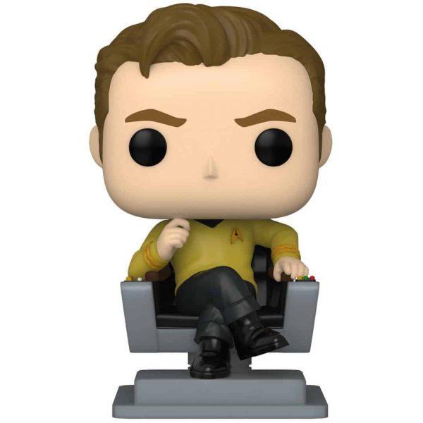 Funko Pop! Star Trek: The Original Series - Captain Kirk in Chair Funko Pop! Vinyl Figure