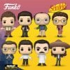 Funko Pop! Television: Seinfeld - Newman the Mailman, Yev Kassem, Elaine in Dress, George Funko, Elaine in Sombrero, Jerry with Puffy Shirt, Kramer and Jerry doing Stand-Up Funko Pop! Vinyl Figures