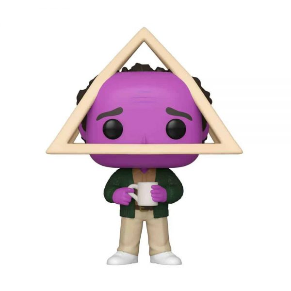 Funko Pop! Television: Seinfeld - Holistic George with Purple Face Funko Pop! Vinyl Figure - Target Exclusive