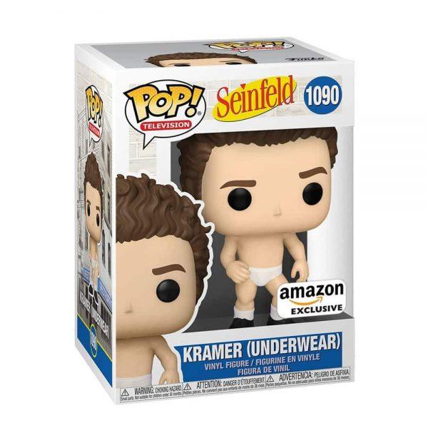 Funko Pop! Television: Seinfeld - Kramer (Underwear) Funko Pop! Vinyl Figure - Amazon Exclusive