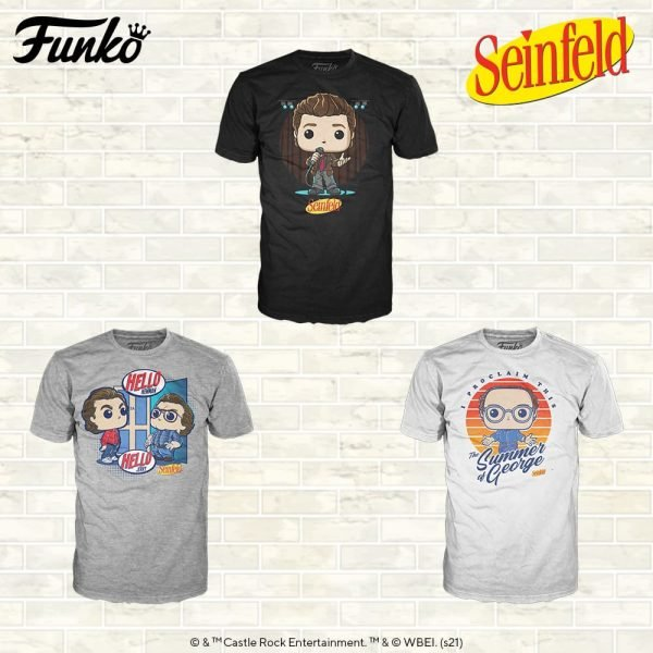 Funko Seinfeld T-Shirts Collection