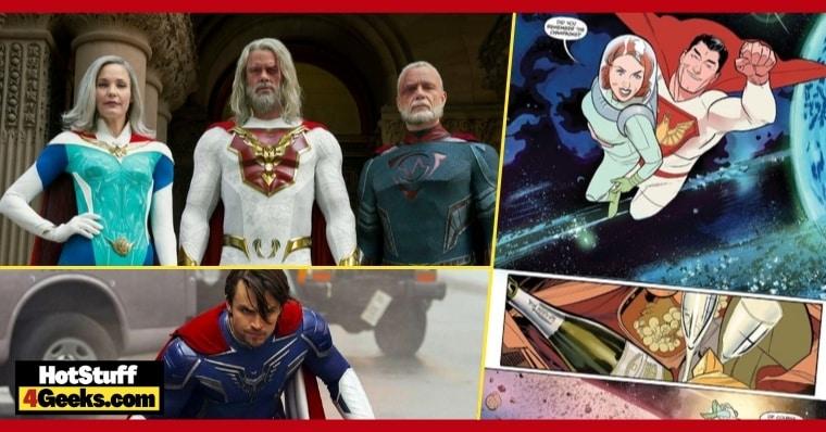 Jupiter's Legacy Comics That Inspired the Netflix Series