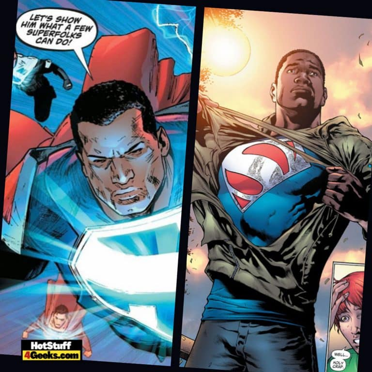 Kalel from Earth 23: All About Black Superman