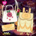 Loungefly Disney Beauty and the Beast Collection (Belle and Rose) - April 2021 pre-orders coming on May 2021