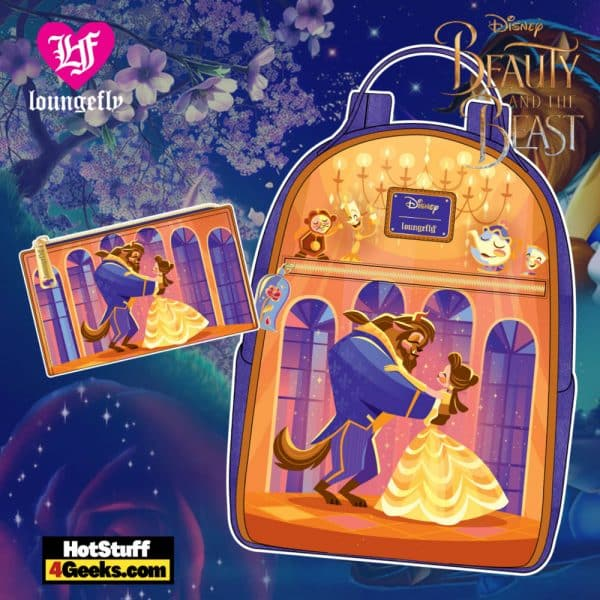 Loungefly Disney Beauty and the Beast Ballroom Scene Collection - April 2021 pre-orders coming on May 2021