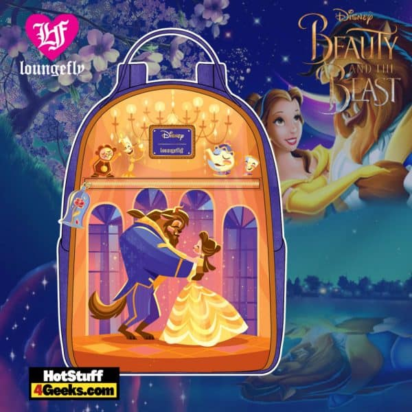 Loungefly Disney Beauty and the Beast Ballroom Scene Mini Backpack - April 2021 pre-orders coming on May 2021
