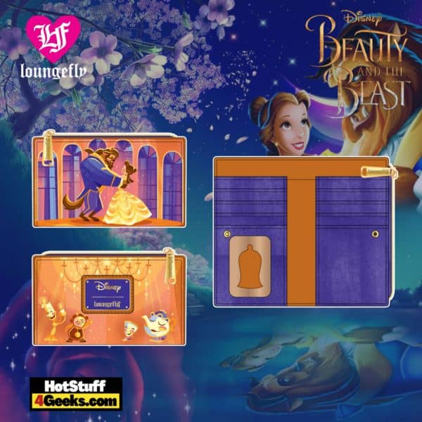 Loungefly Disney Beauty and the Beast Ballroom Scene Wallet - April 2021 pre-orders coming on May 2021