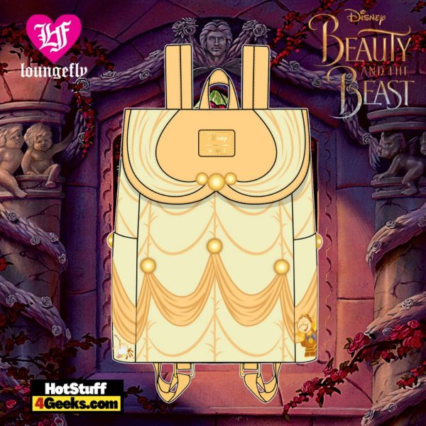 Loungefly Disney Beauty and the Beast Belle Cosplay Mini Backpack - April 2021 pre-orders coming on May 2021