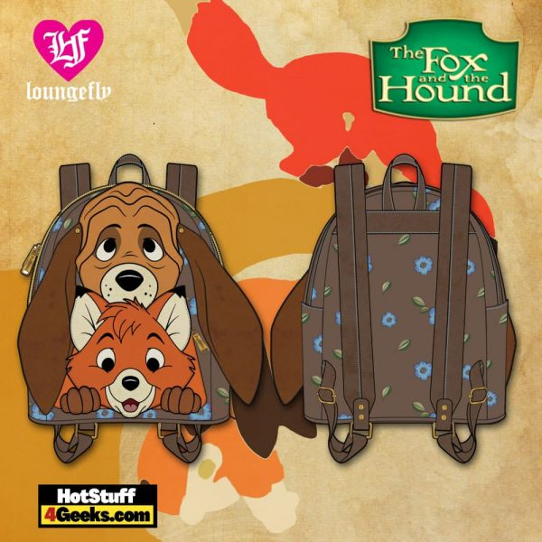 Loungefly Disney: Fox and Hound Tod and Copper Cosplay Mini Backpack - March 2021 pre-orders coming on April 2021
