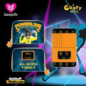 Loungefly Disney Goofy Movie Powerline All Access Pass Zip Around Wallet - April 2021 pre-orders coming on May 2021