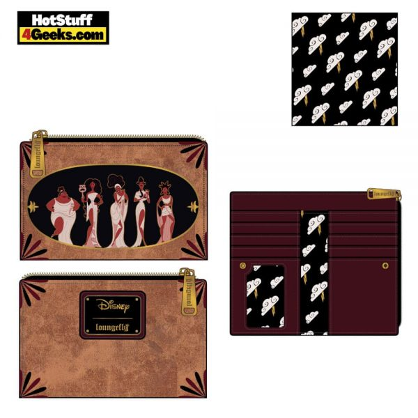 Loungefly Disney: Hercules Muses Flap Wallet - March 2021 pre-orders coming on April 2021