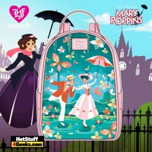 Loungefly Disney Mary Poppins Jolly Holiday Mini Backpack - April 2021 pre-orders coming on May 2021