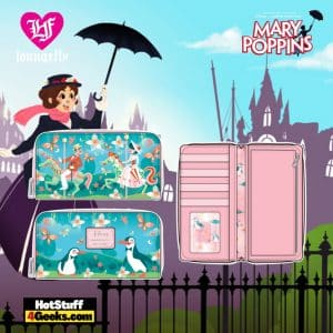 Loungefly Disney Mary Poppins Jolly Holiday Zip Around Wallet - April 2021 pre-orders coming on May 2021
