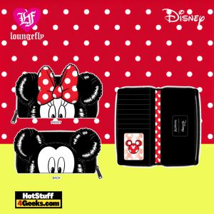 Loungefly Disney Mickey Minnie Ballons Cosplay Zip Around Wallet - April 2021 pre-orders coming on May 2021
